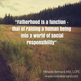 The role of the father when raising children (Part I)