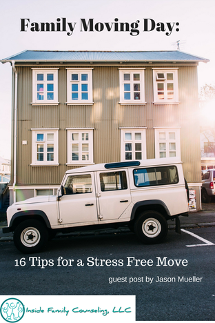 Guest Post: Family Moving Day: 16 Tips for a Stress Free Move