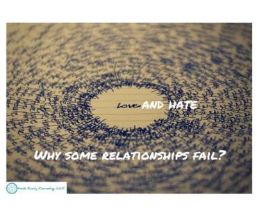 Love and hate: Why do some relationships fail?